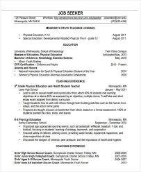 22 Education Resume Templates Pdf Doc Free Premium Templates