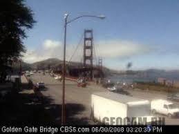 Веб-камера на <b>мосту</b> «<b>Золотые Ворота</b>»