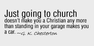 Being Christian Quotes Best Of Going To Church The Distinct Dot