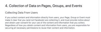Facebook Outline Template Sample Privacy Policy Template Termsfeed