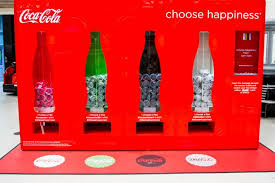 Coke Bottle Vending Machine Enchanting CocaCola Creates Twitterpowered Vending Machine