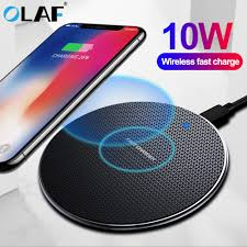<b>Olaf</b> 10W Qi <b>Wireless Charger For</b> Samsung Galaxy S10 S9/S9+ S8 ...