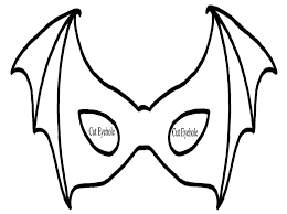 Small Picture Halloween Mask Coloring Pages Fun for Halloween
