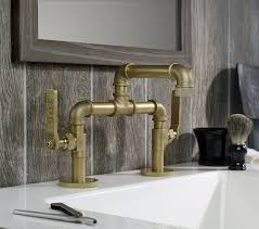 Whole Kitchen Faucets Industrial Style Faucets By Watermark To Give Your Plumbing The