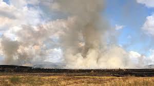 See smoke near Lake Mathews? <b>Don't worry</b>, <b>it's a</b> planned burn ...