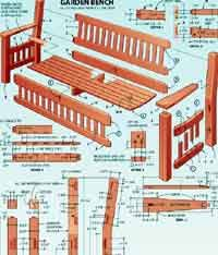 Small Picture Over 100 Free Outdoor Woodcraft Plans at AllCraftsnet