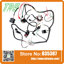 compare prices on complete wiring harness online shopping buy low tdr new arrival complete electrics atv quad 250cc coil cdi harness wiring harness moto