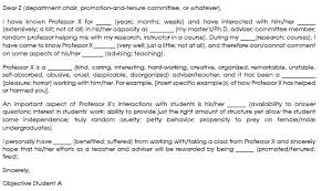 Tenure Recommendation Letter From Student Example 10 Best Letter Of Support Samples Support Projects Or