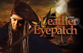 0048 leather eye patch