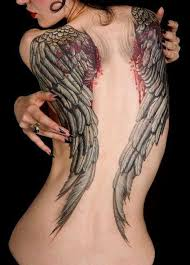 Tetování Na Záda Křídla