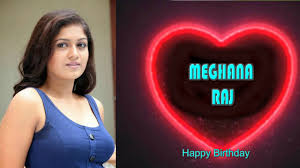 Meghana Raj Birthday | Actress Meghana raj Birthday | Meghana raj Biography  Tamil | Meghana Raj - YouTube