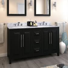 double vanity with top. Jeffrey Alexander Cade Contempo Bathroom Double Vanity With Carerra White Marble Top And 2 Bowls, 1