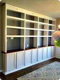 lighting bookshelves. diy built ins with bases lighting bookshelves n