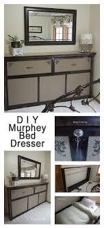 diy murphy bed ideas. Rustic Bed Dresser Combination For A Guestroom Diy Murphy Ideas