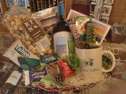 surprise your visiting relatives or new neighbors with a locals gift basket a variety of s all from the tahoe basin chose between a lake tahoe