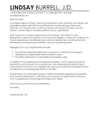 Free Attorney Cover Letter Examples Templates From Trust Writing