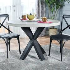 round light weight concrete dining table by knight home off white and benches outdoor concrete round table and benches outdoor