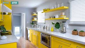 gray and yellow furniture. View In Gallery Gray And Yellow Furniture