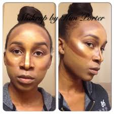 highlight contour makeup for darker skin good article on contouring in general including what makeup