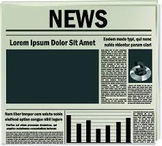 Free Newspaper Template Psd Creative Newspaper Design Elements Vector Set 03 Free Download