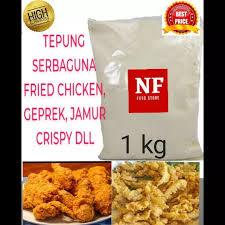 S alah satu makan yang paling mendunia adalah ayam goreng tepung crispy, buktinya kian marak. Tepung Mix Serbaguna 1 Kg Fried Chicken Kfc Geprek Jamur Crispy Dll Lazada Indonesia