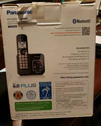 Panasonic Cordless Phone Compatibility Chart Panasonic Kx Tg3760 Link2cell Cordless Telephone With Digital Answer Machine