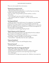 Examples Of Good Resumes And Bad Resumes Brilliant Ideas Bad Resume Examples Pdf Example Of Good Resume 6