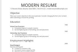 correct format of resumes how should be the resume format