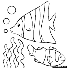 Small Picture Fish Coloring Page Free Fish Online Coloring