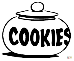Small Picture Cookie Jar Digital Art Gallery Cookie Coloring Pages at Children