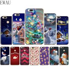 EWAU 2020 <b>New Year Christmas Silicone</b> phone case for Xiaomi 6 ...