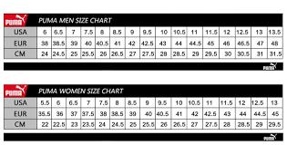 Puma Suede Platform Size Guide