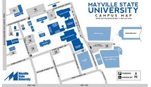 mayville state university cus map