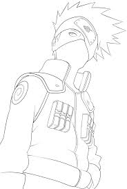 Small Picture Kakashi Coloring Pages Images Pictures Becuo naruto hatake kakashi