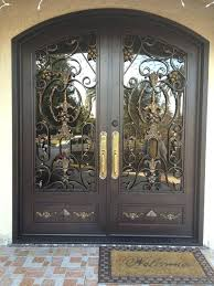 front door with glass and wrought iron trendy colors glass and iron front door glass wrought