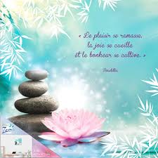 Cadre En Bois Citation Bouddha Zen 40 X 40 Cm Le Plaisir