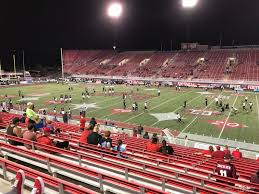 Sam Boyd Stadium Virtual Seating Chart Sam Boyd Stadium Section 126 Rateyourseats Com