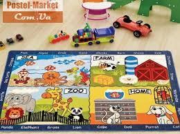 Коврик детскую комнату <b>CONFETTI</b> ANIMAL WORLD MAVI. Купить ...