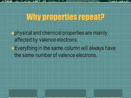 The periodic table chapter 4 & 11. What is the periodic table ...