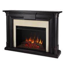 com real flame 8030e bw maxwell grand electric fireplace large blackwash home kitchen
