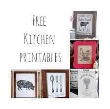decor kitchen kitchen: free kitchen printables farmhouse kitchen decor