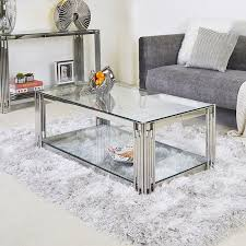 colton contemporary stainless steel and