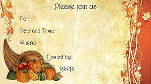 Thanksgiving Invites Cornucopia Thanksgiving Invitations Free Printable Fill In