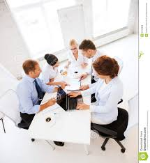 dbcloud office meeting room. Business Team Having Meeting In Office Dbcloud Room R