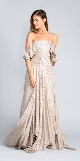 Js Designs Dresses Rani Kadi Flowy Off The Shoulder Gown Designer Dress