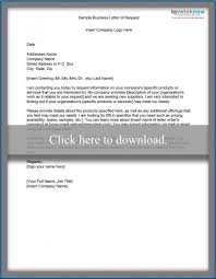 Request For Information Template Sample Business Letter Of Request For Information Lovetoknow
