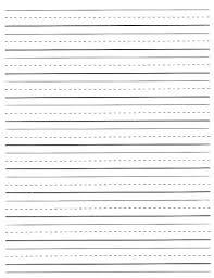 Writing Lines For Kindergarten Editable Handwriting Paper Printable Misspentsonicyouth Com