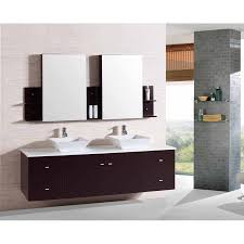 White Wood Bathroom Vanity Inch Wall Mounted Double Espresso Wood Bathroom Vanity Include