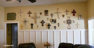 vintage cross wall decor