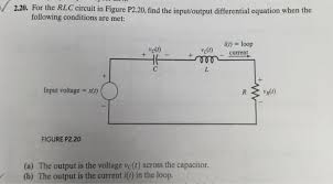 electrical engineering archive 06 2016 chegg com for the rlc circuit in figure p2 20 the inpu